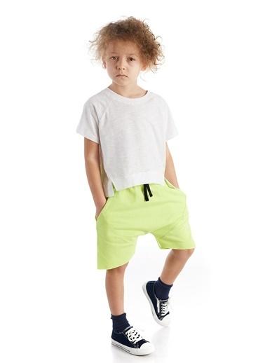 Colorinas Baggy Shorts Sarı